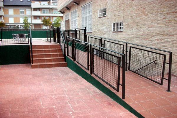 Barandillas para escaleras hierro y mas - Escaleras de hierro para exterior ...